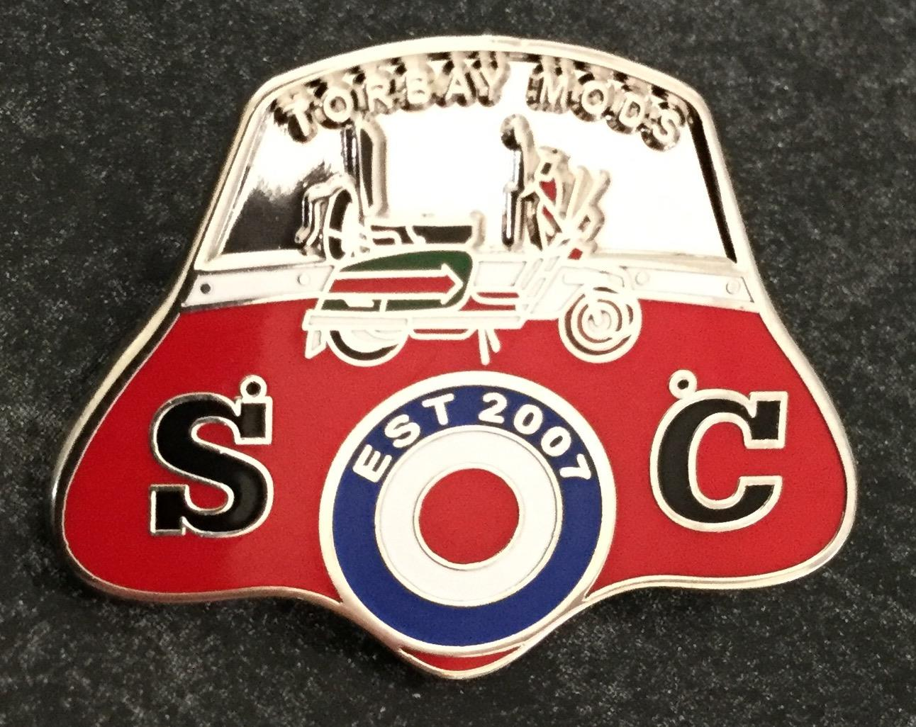 scooter club badges